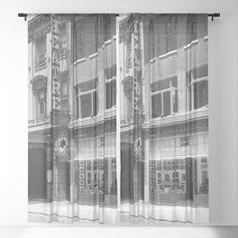 The Hudson Theatre, Manhattan. 1913 Sheer Curtain