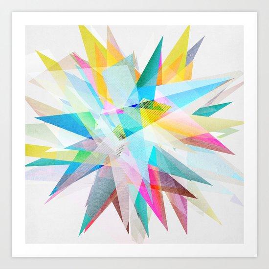 Colorful 4 Art Print