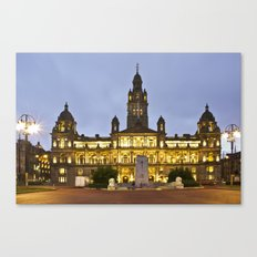 George Square City Chambers  Canvas Print