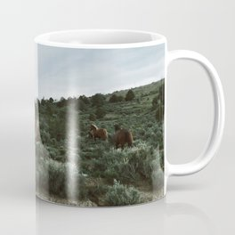 Nevada Horses Coffee Mug