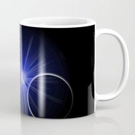 Blue Sun Planet Coffee Mug