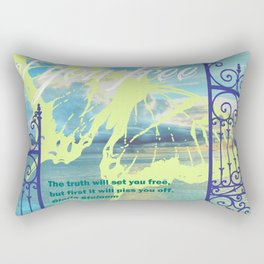 The truth will set you free Rectangular Pillow