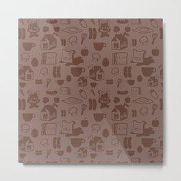 SHANHAIJING-BreadBear-HAI (GoodMorningHAI) Metal Print