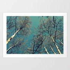 Treescape  Art Print