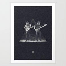 Roger & David Art Print