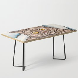 Grey Cat Coffee Table