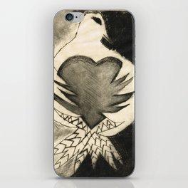White Dove Art - Comfort - By Sharon Cummings iPhone Skin