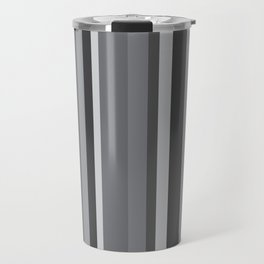 Grey Stripes Travel Mug