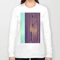 door Long Sleeve T-shirts featuring door by gzm_guvenc