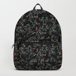 Wolf Pack Pattern Backpack