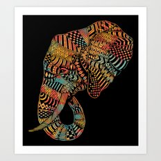 Elephant (Majestic) 3.0 Art Print
