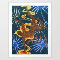 Men in Motion #3 Break Art Print