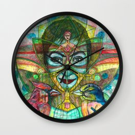 She Thought She Was Small and Trapped, But She Was Not Wall Clock