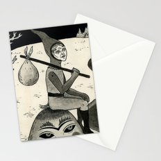 Weary Vagabond  Stationery Cards