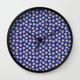 Christmas candy Wall Clock