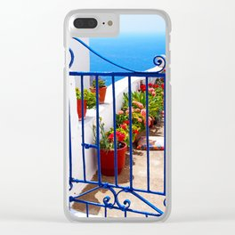 Kardiani view Clear iPhone Case