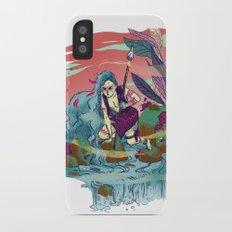 The Furious River Goddess Slim Case iPhone X