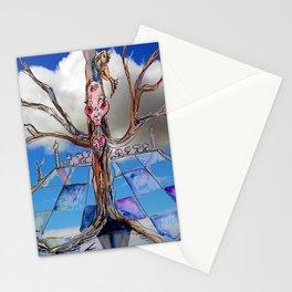 Jester B's Tree Stationery Cards