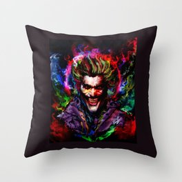 smile Throw Pillow