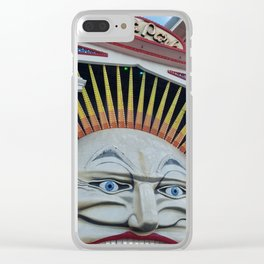 Luna Park Clear iPhone Case