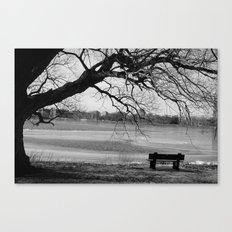 Cold Seat Canvas Print