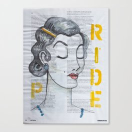 PRIDE Canvas Print