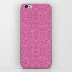 Dragonfruit Pink Circles iPhone & iPod Skin