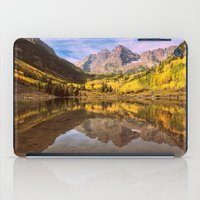 mountains iPad Cases featuring mountains. Mirror Lake by 2sweet4words Designs