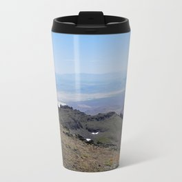 road trip, 2nd look, killer view, mountains, expanded view of same pic. Travel Mug