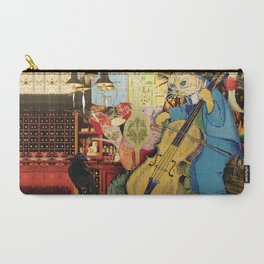 Distarcted Busker Carry-All Pouch