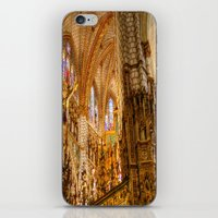 ornate elephant iPhone & iPod Skins featuring Ornate by John Hinrichs