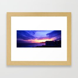 Acapulco Afternoon Framed Art Print