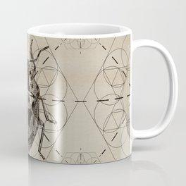 Sacred Geometry Soldier Bug Coffee Mug