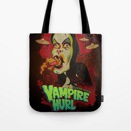 Vampire Hurl Tote Bag