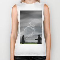 johnlock Biker Tanks featuring To the very best of times by Dullish