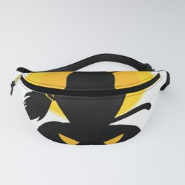 witch cat furniture Design by diegoramonart Fanny Pack