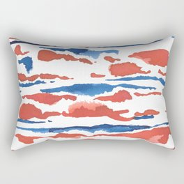 aquarela stains Rectangular Pillow