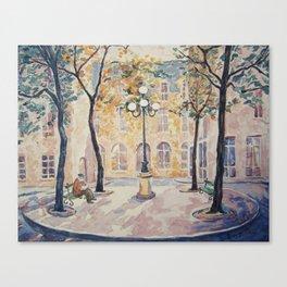 Place de Furstenberg, Paris Canvas Print