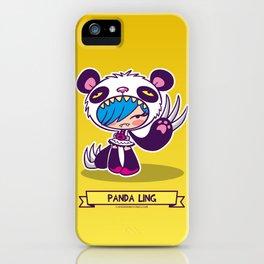 Panda Ling iPhone Case