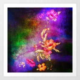 flowers cp Art Print