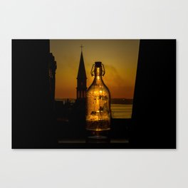 Morning thirst Canvas Print