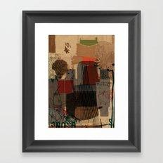 unfolded 21 Framed Art Print
