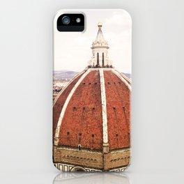 Duomo - Hazy, Florence Photography iPhone Case
