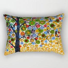 Garden of Moons #2 Rectangular Pillow