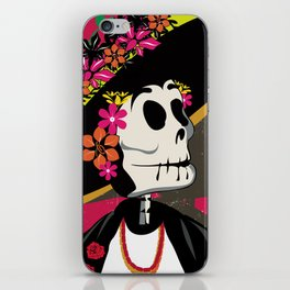 Dia de los Muertos Woman iPhone Skin