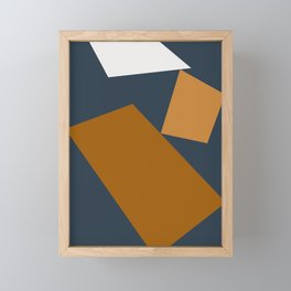 Abstract Geometric 25 Framed Mini Art Print