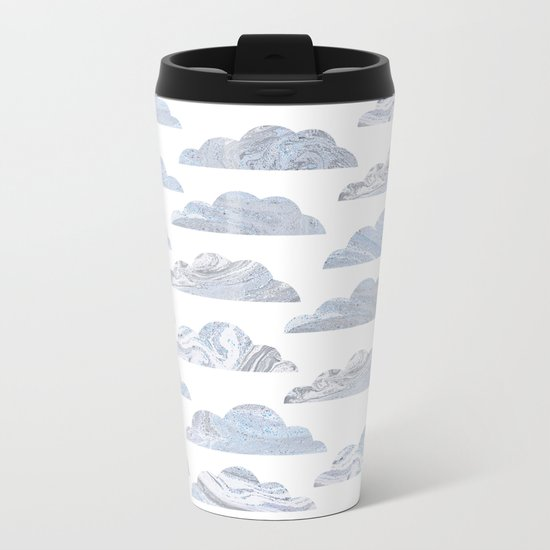 Cute cloud Metal Travel Mug