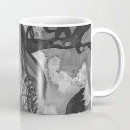 Raven Witch - Black & White Coffee Mug