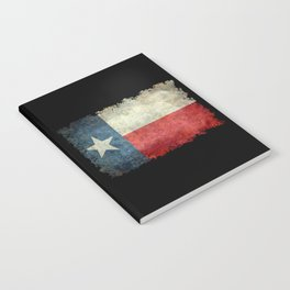 State flag of Texas, Lone Star Flag of the Lone Star State Notebook