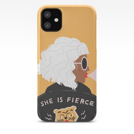 She Is Fierce iPhone Case